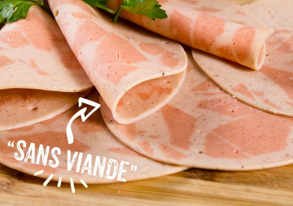 OCharcuterie végétale sans viande Parisien