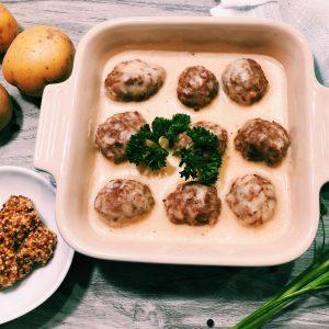 Swedish Meatless Balls