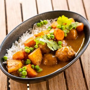Vegan Meatball Coconut Curry