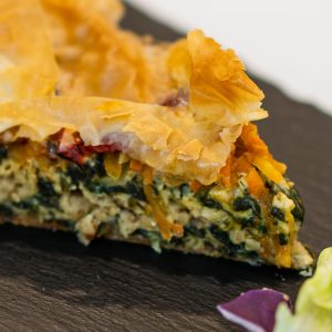 Vegan Meat & Spinach Pie