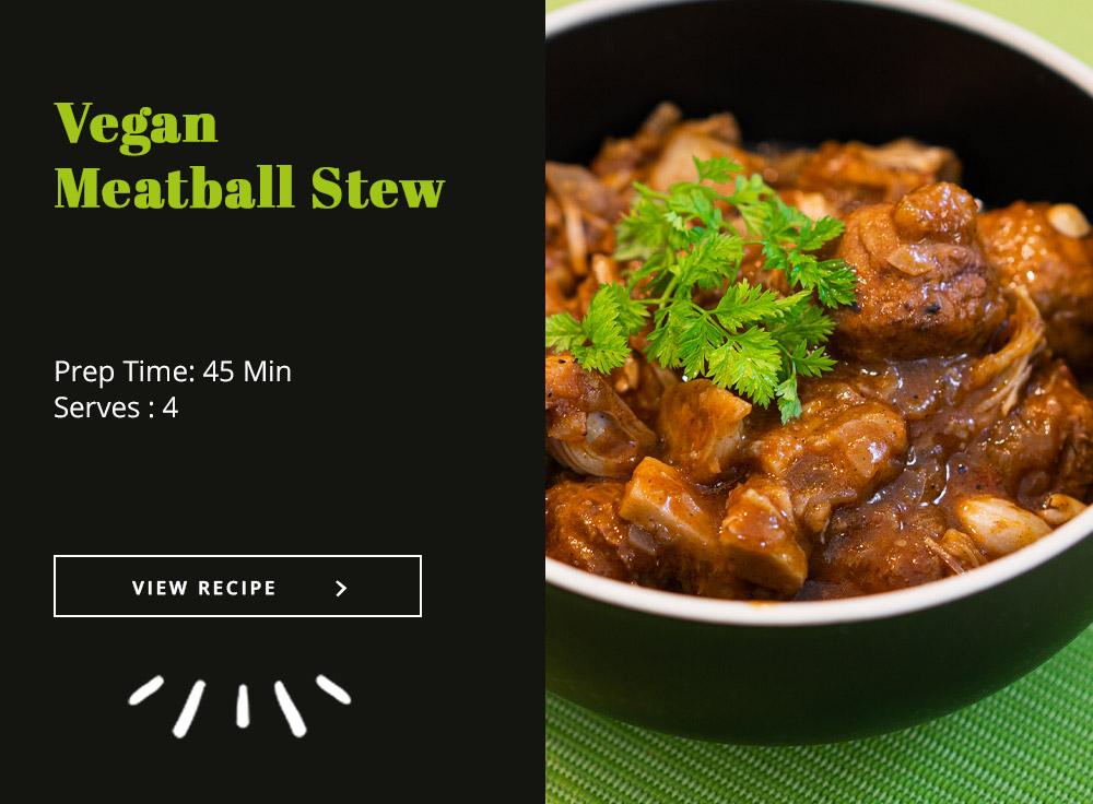 Vegan Meatball Stew