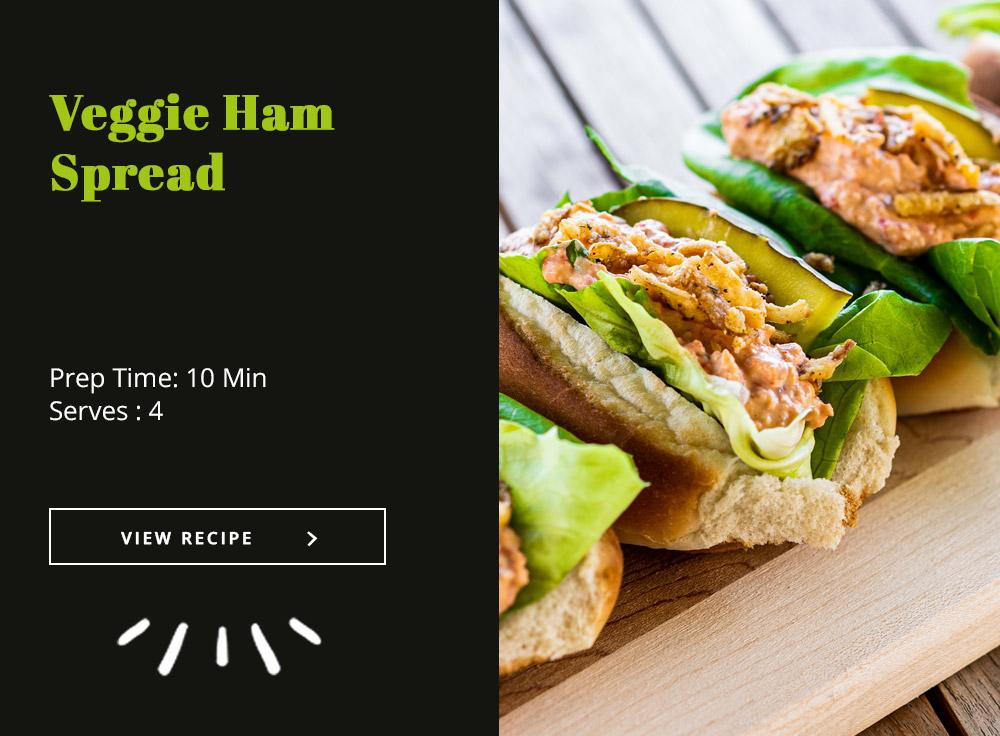 Veggie Ham Spread