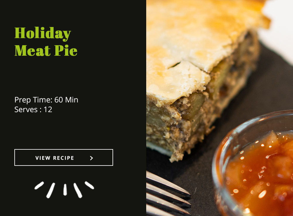 Holiday Meat Pie